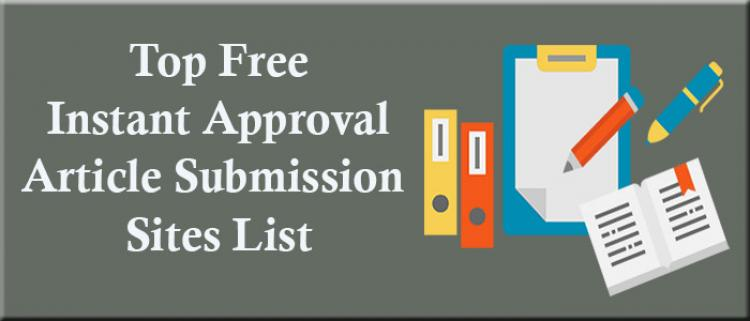 30+ free article submission sites 2021 | top article submission sites